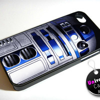 R2D2 Star Wars Robot iPhone 4S Case Hard Plastic