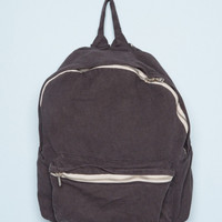 Faded Black Mini Backpack