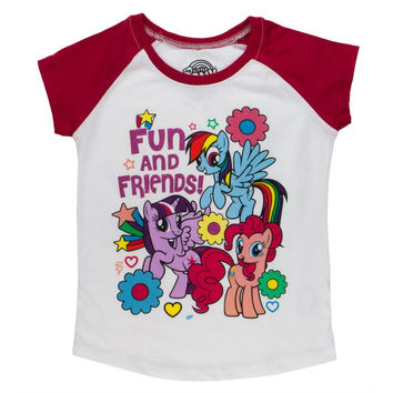 My Little Pony - Fun and Friends Toddler White T-Shirt