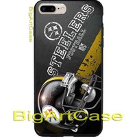 Best NFL Pittsburgh Steelers Logo CASE COER iPhone 6/6+7/7+8/8+,X and Samsung