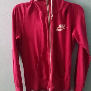 Nike Gym Vintage Zip-up Hoodie Jacket1