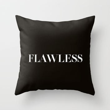 Beyonce Throw Pillow by Trend