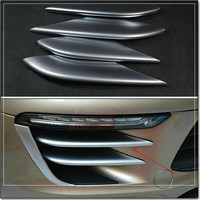 car styling Automobile ABS chrome-plated decorative laminated for Porsche macan 2014 2015 2016