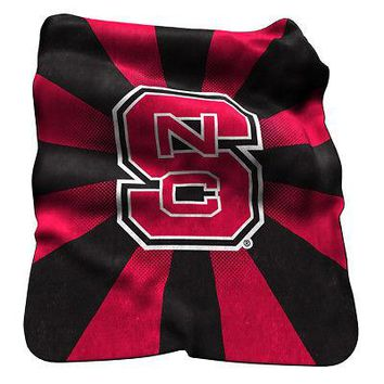 Licensed North Carolina State Wolfpack Official Raschel Throw by Logo Chair Inc. KO_19_1