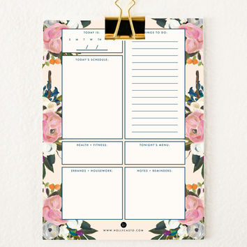 Everyday Planner Sheets | Vintage Rose