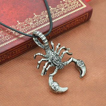 Men Necklaces Scorpion King Clavicle Chain Personalized Jewelry Pendant Necklace
