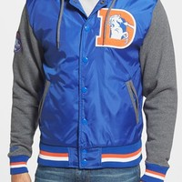 Men's Mitchell & Ness 'NFL Classics - Denver Broncos League Standings' Tailored Fit Hooded Fleece Jacket