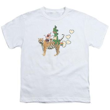 Uncle Grandpa Fart Hearts Youth T Shirt