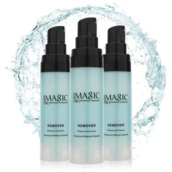 IMAGIC 30 ml Makeup Remover Cleaner Deep Cleaning Oil Facial Cleanser Face Eye Lips Skincare Shrink Pores Purify Demaquilante