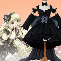 Chobits Freya Chobits Dark Chii Cosplay Dress Costume