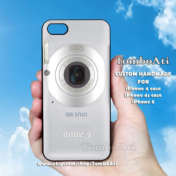 CANON IXUS - Print on Hard Cover For iPhone 4/4S and iPhone 5 Case