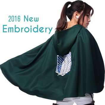 Cool Attack on Titan Halloween  anime cosplay no   cosplay costume props  liberty wings cloak coat cape fantasia AT_90_11