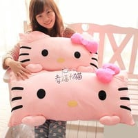 Kitty HELLO KITTY oversize of a cat doll singe pillow 60cm plush cushion pillow