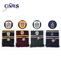 Harry Potter Kid Scarves Accessories Magic School Scarf can dropshipping Hogwarts School of Witchcraft and Wizardry