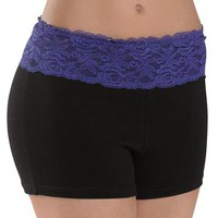 Bright Lace Waistband Shorts