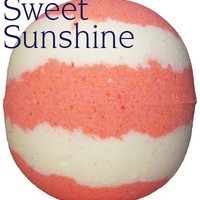 Sweet Sunshine Bath Bomb 8oz Sweet Sunshine Bath Bomb [SunshineBB] - $3.69 : FizzButter Bath Bombs, Best Bath Bombs, Bubble Cakes, Body Frosting and Shea Massage Soap