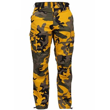 Rothco Color Stinger Yellow Camo Tactical BDU Pants