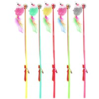 Feather Catcher Teaser Cat Toys