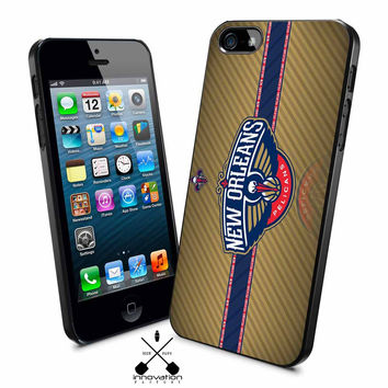 New Orleans Pelicans logo iPhone 4s iphone 5 iphone 5s iphone 6 case, Samsung s3 samsung s4 samsung s5 note 3 note 4 case, iPod 4 5 Case