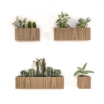 """Set of 4 Planters 