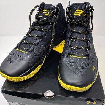 LMFON Under Armour Curry 2 Basketball Shoe Dark Knight Colorway