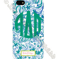 Lilly Pulitzer Sorority iPhone 5/5s Case - Alpha Delta Pi