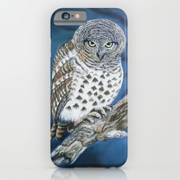 Owl iPhone & iPod Case by Azure Avenue