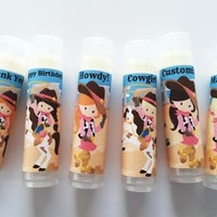 Cowgirl Custom Lip Balm – Free Customization