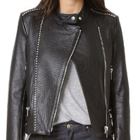 Salvation Motorcycle Leather Jacket