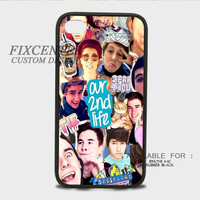 Our 2nd Life Collage Rubber Cases for iPhone 4,4S, iPhone 5,5S, iPhone 5C, iPhone 6, iPhone 6 Plus, Samsung Galaxy S3, Samsung Galaxy S4, Samsung Galaxy S5  phone case design