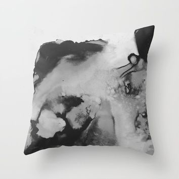 the comedown Throw Pillow by duckyb