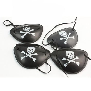 skull pirate eye patch mask for Masquerade halloween Cosplay costume party adult kids birthday new year Children's Day toy gifts