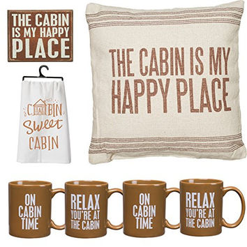 Cabin Lover's Deluxe Home Decorator's Gift Set