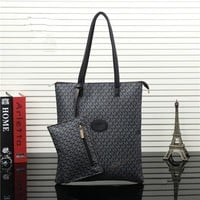 """Michael Kors"" Casual Fashion Classic Letter Print Single Shoulder Bag MK Women Shopper Handbag"