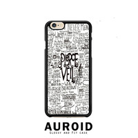 Pierce The Veil Song Lyric iPhone 6 Plus Case Auroid