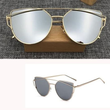 Large Framed Mirror Glasses : Shop Large Framed Mirrors on Wanelo