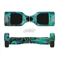 The Neon Multiple Peacock Full-Body Skin Set for the Smart Drifting SuperCharged iiRov HoverBoard