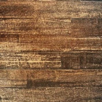 Brown Chocolate Wood Platinum Cloth Backdrop - 6x8 - LCPC703 - LAST CALL