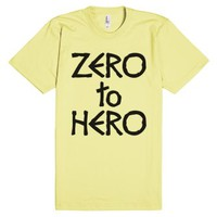 Zero to Hero-Unisex Lemon T-Shirt