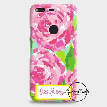 Lilly Pulitzer First Impression Rose Inspired Google Pixel 2 Case | casescraft