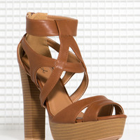 Enclose 86 Caged Stacked Wood Platform