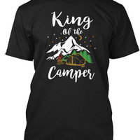 King Of The Camper Funny Camping Shirt