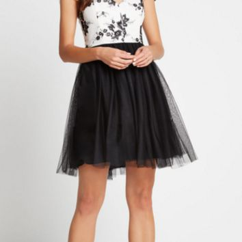 BCBGeneration - Sleeve Cutout dress