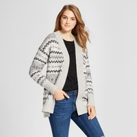 Women's Nordic Patterned Cardigan - Mossimo Supply Co.™ Gray