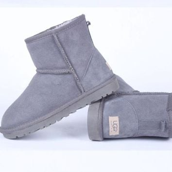 UGG Women male Fashion Wool Snow Boots-121