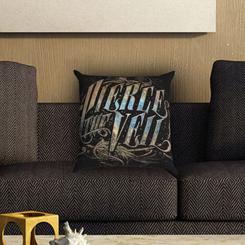 Pierce The Veil Pillow Cover , Custom Zippered Pillow Case One Side Two SIde