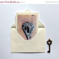 ON SALE valentines day card blank notecard greeting love card anniversary handmade photo greeting card paper handmade greeting cards