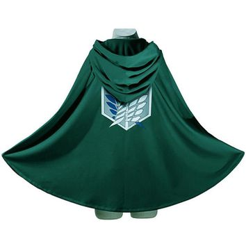 Cool Attack on Titan  Survey Corps Wings of dom Cloak Cape Cosplay Costume AT_90_11