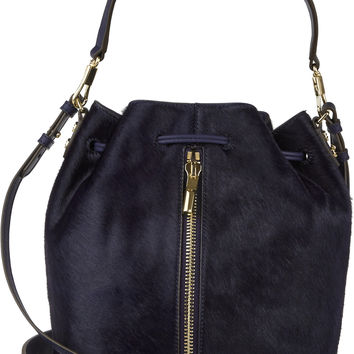 Elizabeth and James - Cynnie calf hair bucket bag
