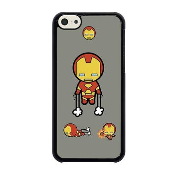 iron man kawaii marvel avengers iphone 5c case cover  number 1